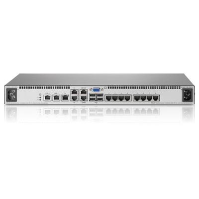 HP 1x1Ex8 KVM IP Console Switch G2 AF620A